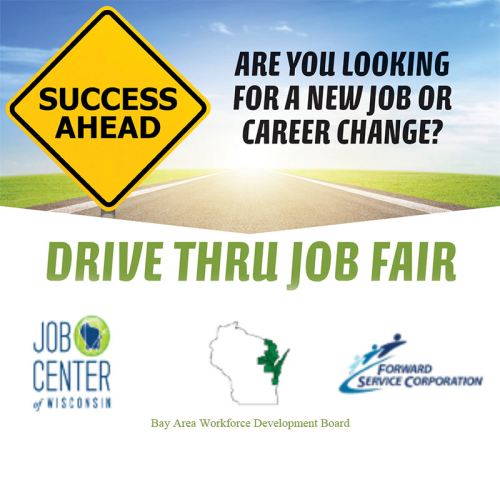 Drive-Thru Job Fair: The Sequel Goes Statewide on Thursday, September 17, 2020