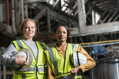 Wisconsin Remains Behind the National Average for Female Hires in Construction
