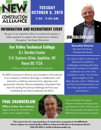 October 8 Event: Solving our Industry's Workforce Shortage