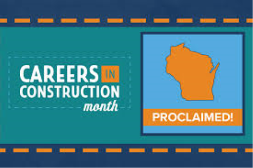 It's Official: Governor Evers Declares October Careers in Construction Month in Wisconsin